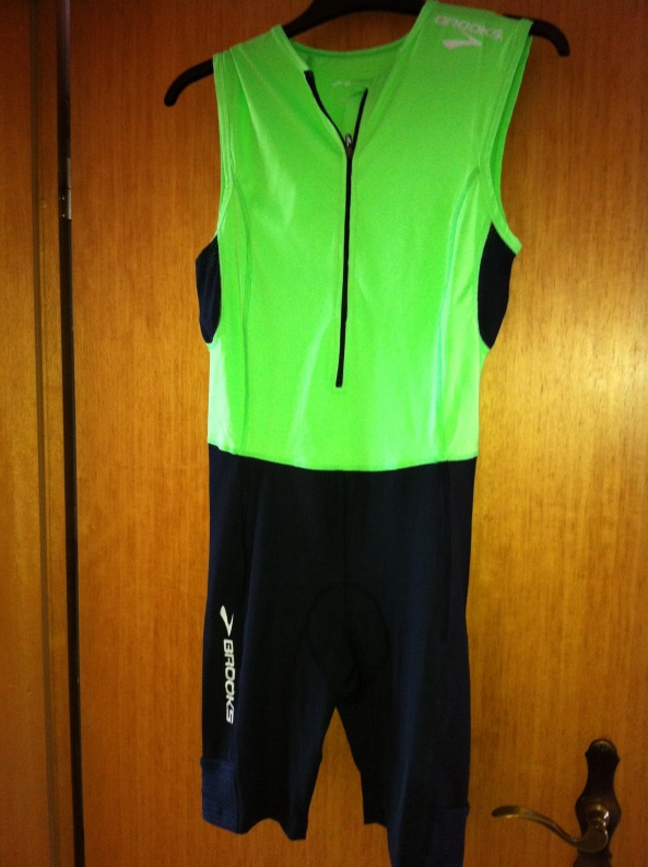 Brooks Tri Suit in BrightGreen