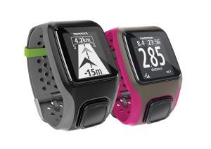 TomTom MultiSport grau und pink